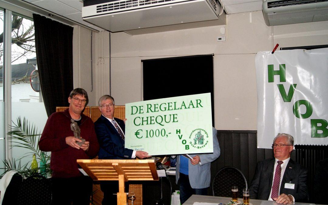 """Kandidaten Leefbaarheids Award """"de Regelaar"""" 2018"""